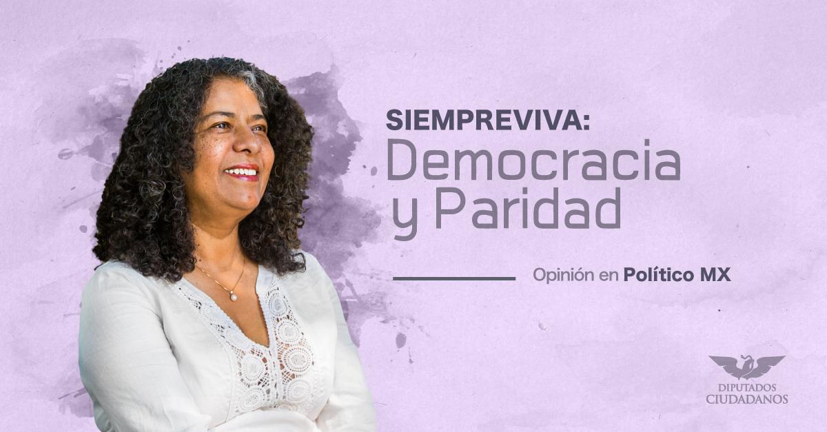Siempreviva: Democracia y paridad