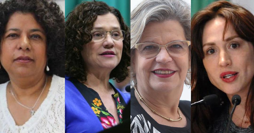 Candidatas a dirigir el INMUJERES
