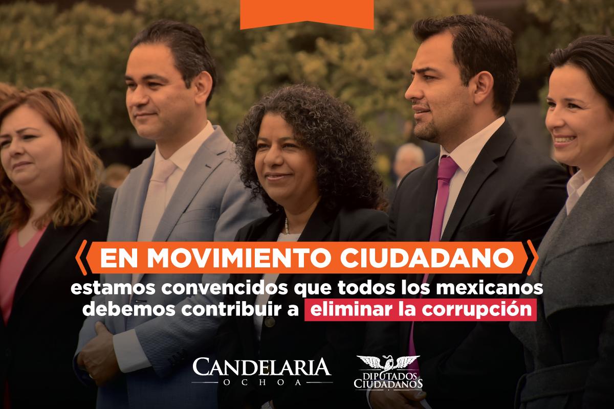 """FUNDAMENTAL LEY 3 DE 3 PARA DECIRLE A LA GENTE """"CUÁNTO TENGO, CUÁNTO GANO Y CON CUÁNTO ME VOY"""": CANDELARIA OCHOA"""