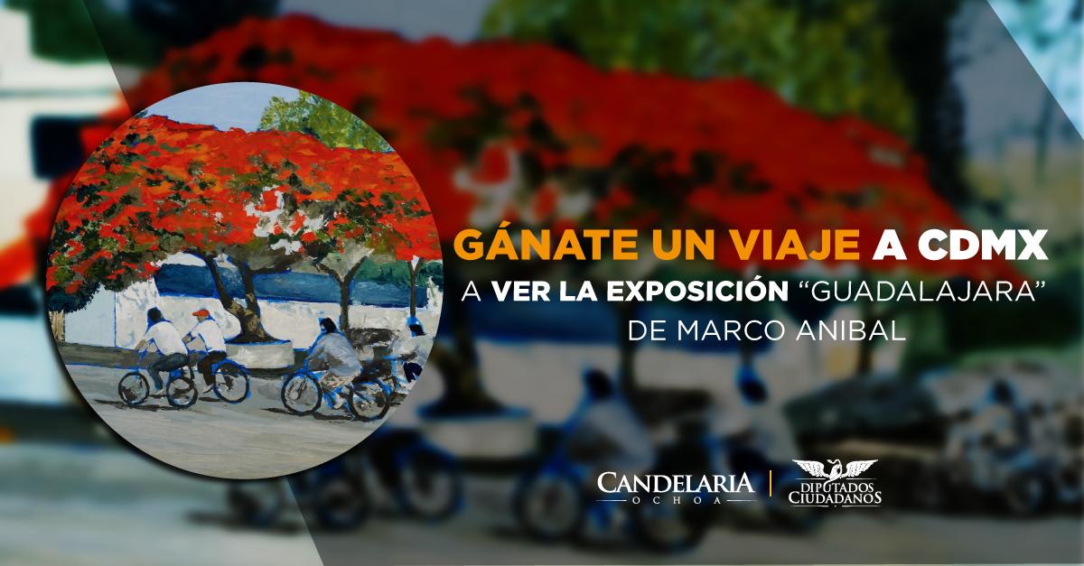 """La diputada Candelaria Ochoa Ávalos te invita a participar en: """"Crónica sobre Guadalajara"""""""