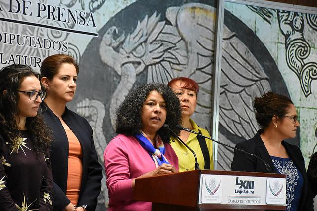 3 mujeres en el INE: solicitud de diputadas y activistas encabezadas por Candelaria Ochoa