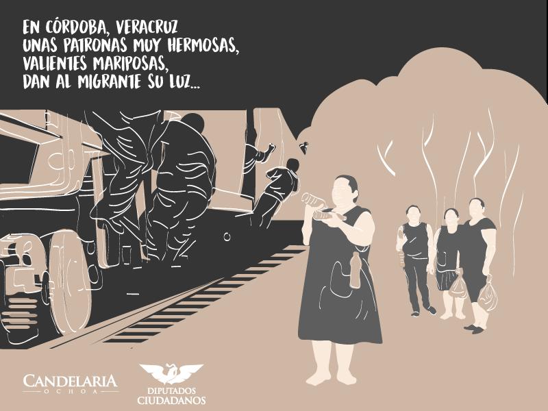 UdeG otorga premio a 'Las Patronas'