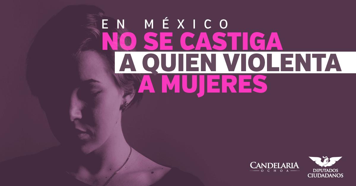 Osorio presume que siempre hay castigo en México por agredir a mujeres, ¿es así?