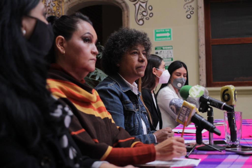 Mujeres militantes y simpatizantes de MORENA presentaron la Red de Defensa contra la Violencia Política, con el objetivo de que ninguna mujer pre o candidata viva violencia política durante el proceso electoral del 2021.